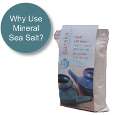 Why use Baraka Neti Pot sea salts